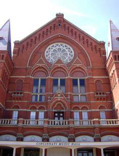 Music Hall, Over-the-Rhine, Cincinnati