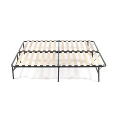 Pragma Bed Wooden Slat Simple Base Bed Frame Size: