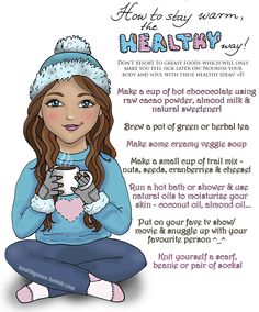 How To Stay Warm The Healthy Way.