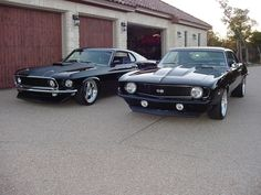 ford mustang & camero SS