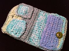 Ravelry: Wonderful Tea Wallet pattern by Corley Groves Crochet Bags, Knit Crochet, Wallet Pattern, Tea Time, Ravelry, Totes, Embroidery, Purses, Chain