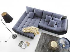 Coltar extensibil Hugon cu sezlong pe stanga #homedecor #inspiration #interiordesign #livingroom #decor #sofa #grey Modernism, Couch, Living Room, Interior Design, Grey, Inspiration, Furniture, Home Decor, Nest Design