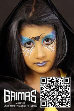 Reina araña - www.maquillador.eu, ejemplos de maquillaje