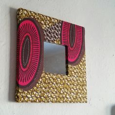 Amazing Ankara African Dutch Wax Framed Mirror Art by ReflektionDesign – All About Home Decoration