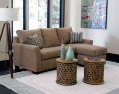 A Small Living Room Doesnu0027t Mean You Canu0027t Have A Fun, Stylish Sectional    The Montana Mocha Is The Perfect Space Conscious Option For Tighter Spaces!