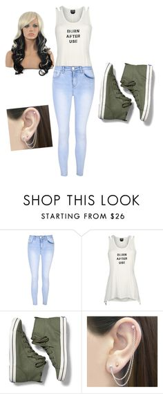 """OC Britt #2"" by the-blueglasses ❤ liked on Polyvore featuring Glamorous, Keds and Otis Jaxon"