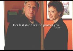 Her last stand was to protect you.