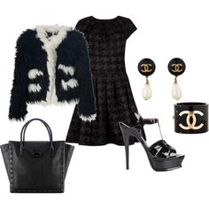 """Edgy Chic"" by bagabond on Polyvore"