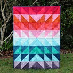 Colour Explosion Quilt Tutorial | Bonjour Quilts