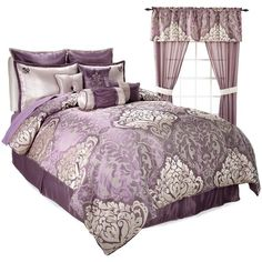 Highgate Manor 20-piece Ritz Comforter Set Amethyst Full New Free Shipping #HighgateManor