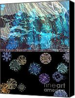 Ocean Plankton Digital Art by Ursula Freer - Ocean Plankton Fine Art Prints and Posters for Sale