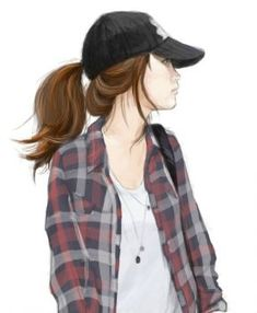 "Solve ""Tomboy"" jigsaw puzzle online with 30 pieces Cool Anime Girl, Beautiful Anime Girl, Anime Art Girl, Girl Cartoon, Cartoon Art, Tomboy Drawing, Tomboy Art, Cover Wattpad, Girly Drawings"