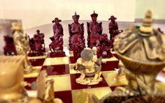 Ivory chess board @ Museo Soumaya, MX