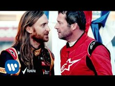 #DavidGuetta - #Dangerous ft Sam Martin. Watch David Guetta play a #F1 racing driver in a dramatic track showdown with actual F1 driver, Romain Grosjean.