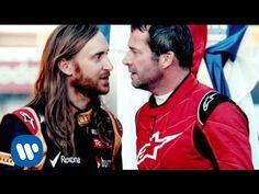 #DavidGuetta - #Dangerous ft Sam Martin. Watch David Guetta play a #F1 racing driver in a dramatic track showdown with actual F1 driver, Romain Grosjean.