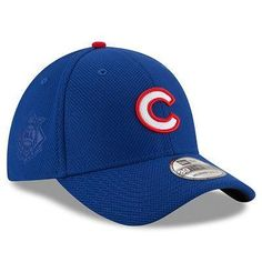 0d3bf94fcc9 Men s Chicago Cubs New Era Royal Diamond Era 39THIRTY Flex Hat
