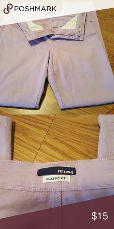 Lavender Jeans Worn once/ Cotton/Spandex Basic Edition  Jeans Straight Leg