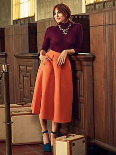 Eva Mendes Collection - Clare Full Skirt  - New York & Company