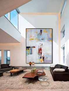 Handmade Extra Large Contemporary Painting Huge by CelineZiangArt Abstract Canvas Art, Diy Canvas Art, Acrylic Painting Canvas, Painting Abstract, Contemporary Abstract Art, Contemporary Artists, Large Art, Painting Inspiration, Interior Design
