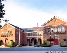 Cooperstown, New York. Baseball Hall of Fame. Cooperstown is beautiful, want to return and stay a while