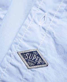 Vestes, T-Shirts, Sweats - Superdry Tag Design, Label Design, Garments Business, T Shirt Label, Cargo Shirts, Denim Jeans, Clothing Labels, Printing Labels, Hang Tags