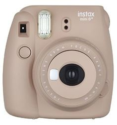 Fujifilm Instax Mini 8+ w/ mirror. International Version (Cocoa)