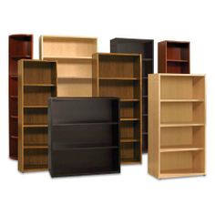 Wood Bookcase Size-Color - 21W x 72H (5 Shelves) - Cherry by The Ergo Office. $459.99. Adjustable shelves for customizable use. Available in a variety of sizes and finishes. Wood solids and veneers over MDF. Includes manufacturer's 10-year warranty. 3-, 4-, 5-, or 6-shelf configurations. Your library and display needs change over time, so the 2000 Series Bookcase is crafted to grow with your collections. Whether you love hardbacks or chapbooks, plants or picture...