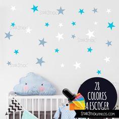 Artstickers Adhesivo Infantil para decoraci/ón de Muebles Puertas Kit de 10 Estrellas para Libre colocaci/ón. en Color Rosa Nombre de 20cm Paredes.Nombre: Emma