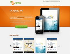 """Check out new work on my @Behance portfolio: """"Mobile Apps Website Design"""" http://on.be.net/1ewZC19"""