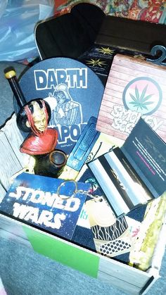 """""""@cannabox - got my first box! I'm never canceling my subscription :) #cannabox #StonedWars #MayTheForceBeWithYou """""""