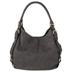 Women's Timeless Collection Large Hobo Faux Leather Handbag Brown - Merona™ : Target -i like this style/color