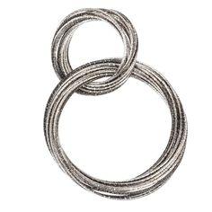 Brite Multi Ring Black Scarf Jewelry