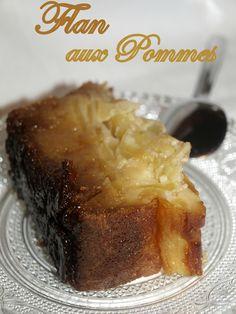 Flan aux pommes caramélisèes
