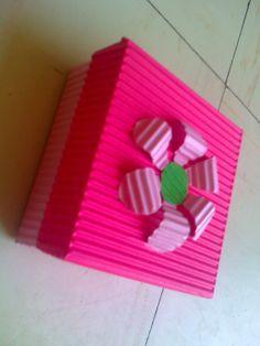 Como hacer cajitas de carton corrugado - Imagui