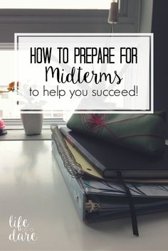 Here are some tips to help you study for your midterms to help you get the best grades you can get!
