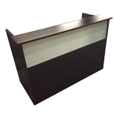 Stylish Reception Desk Reception, Desk, Stylish, Glass, Products, Home Decor, Writing Table, Desktop, Drinkware