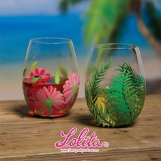 Do you prefer stemless wine glasses? If so, I have a bunch of designs for you to choose from! http://www.designsbylolita.com/stemless-wine-glasses