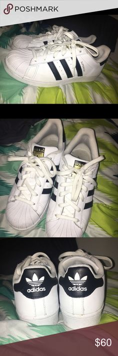 Adidas Superstar Shoes Only wore it a few times. Adidas superstar shoes. Size 7. adidas Shoes Sneakers