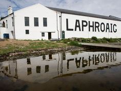Laphroaig distillery in Scotland.