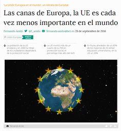 Las canas de Europa, la UE es cada vez menos importante en el mundo / @bezdiario | #readyforeurope