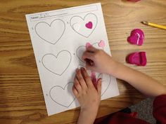 Apples and ABC's: February Centers