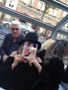 Barbra Streisand and James Brolin in Amsterdam