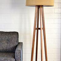 1000 images about lamps on pinterest floor lamps Possini euro design deco style walnut column floor lamp