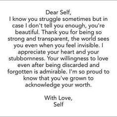 Self love <3