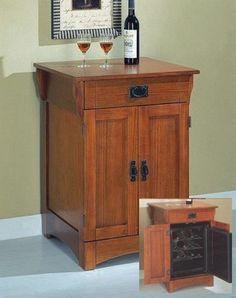 36 in. High Hugo Oak Wine Cabinet by Oriental Unlimted. $495.00 ...