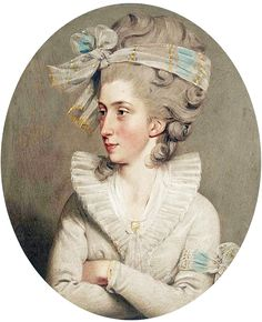 John Downman (1750-1824): Portrait of Letitia Anna Philippa Pervis. 1778.