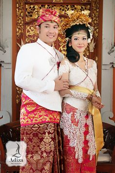 Balinesse, Indonesia Traditional Wedding Outfit