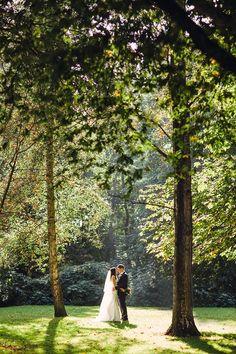 Beautiful woodland shot by Paula O Hara - David and Stephanie | onefabday.com