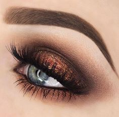 Shimmer eyeshadow always pretty to me. Really makes eyes pop.