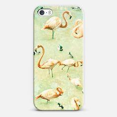 Flamingos iPhone & iPod case by Lisa Argyropoulos | Casetagram